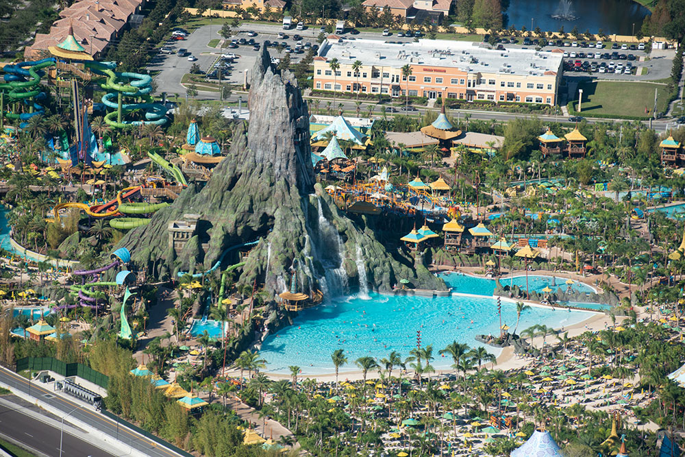 Volcano Bay Universal Studios Real Estate